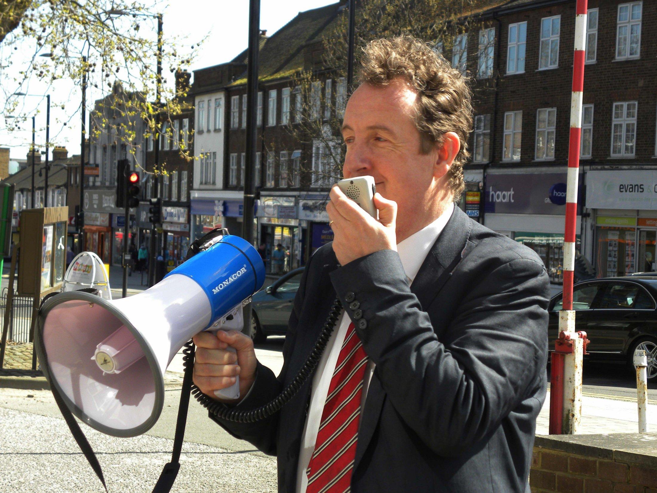 Julian Bell leader of Ealing Council