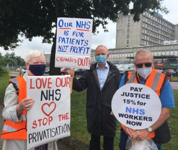 Pay Justice For The NHS