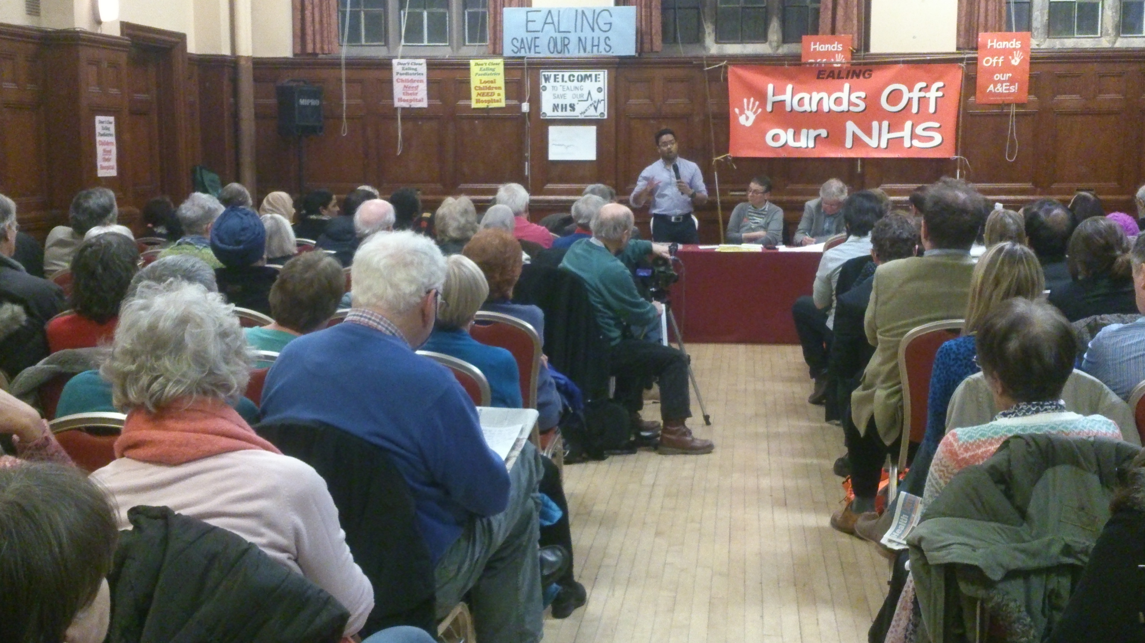 160 People Attended Ealing Save Our NHS Public Meeting