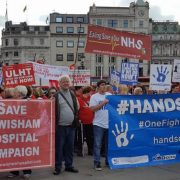 Campaigners across the country rally in London