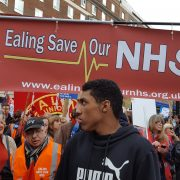 Massive demonstration to Save the NHS