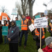 Fabulous rally for the junior doctors